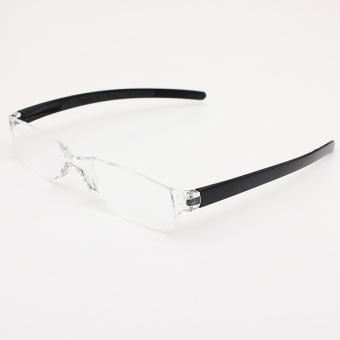 Rimless Glasses Singapore : Black Rimless Reading glasses +3(Export) Lazada Singapore