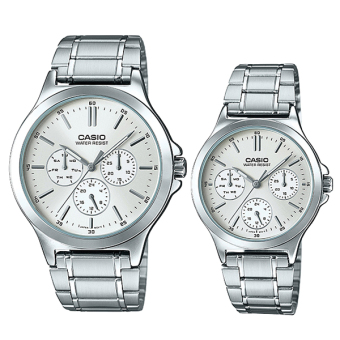 Casio Couple Metal Watch LTPV300D-7A MTPV300D-7A