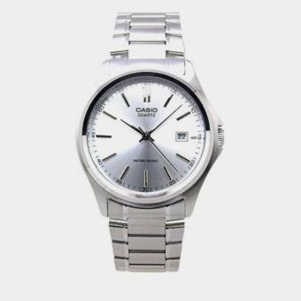 Casio MTP-1183A-7A Men White Dial Stainless Steel Analog Watch