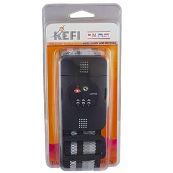 KEFI Heavy Duty Luggage Strap with TSA Lock