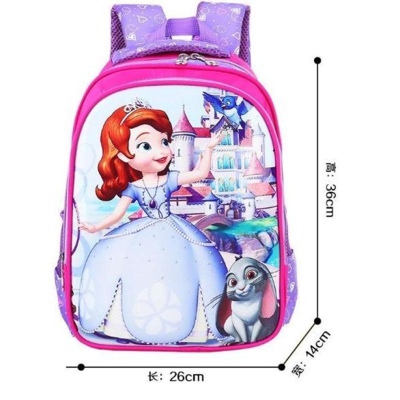 Kindergarten Disney Cartoon Backpack School Bag