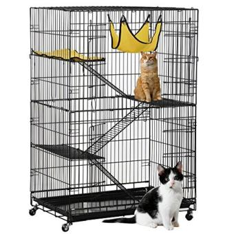 Large 3 Tier Folding Cat Cage Pet Cage