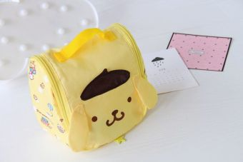 Melody cute New style waterproof large capacity makeup bag