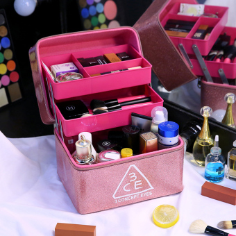 Portable travel makeup products washed cosmetic box bag makeup bag