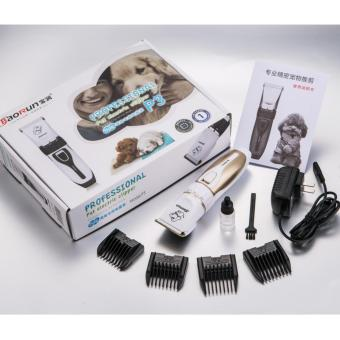 Professional Rechargeable Pet Hair Shaver Trimmer Clipper