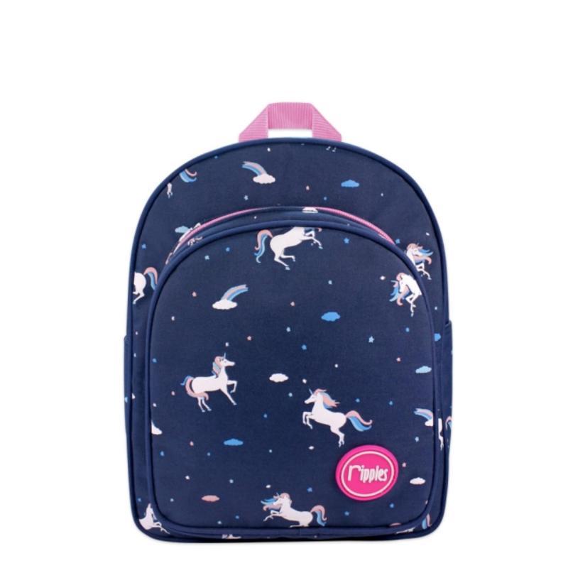 Ripples Kids Backpack Unicorn (Blue)