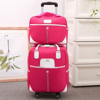 Size Korean-style men and women drag travel trolley