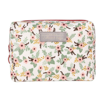 Small Square female portable makeup products bag cute cosmetic bag