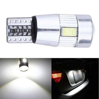 T10 194 W5W 5630 LED SMD Car HID Canbus Error Free Wedge Light Lamp Bulb - intl