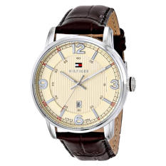 buy tommy hilfiger men watches singapore lazada tommy hilfiger men s 1710343 stainless steel brown leather watch intl