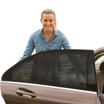 Universal Fit Car Side Window Baby Sun Shade (2 PC Pack) - intl