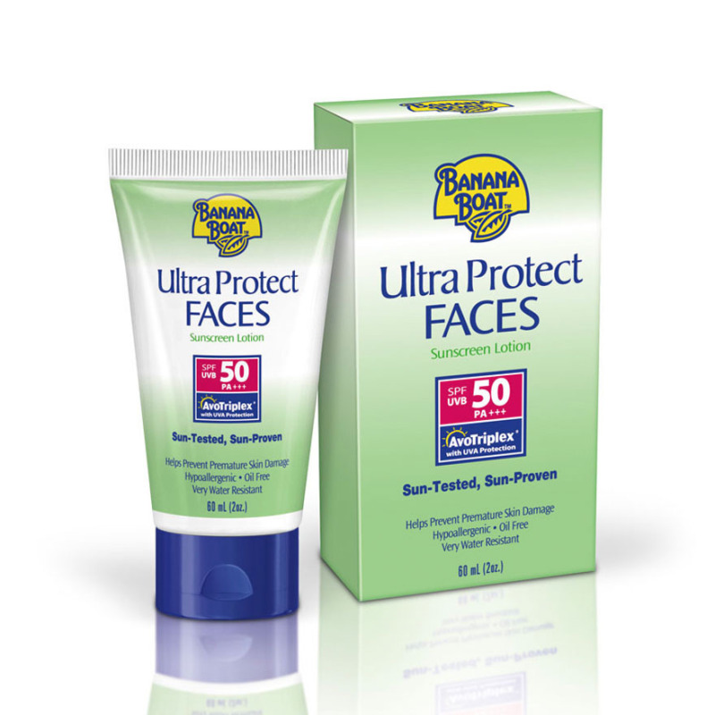 Buy Banana Boat Ultra Protect Faces Spf50 Suncreen Lotion 60ml Singapore