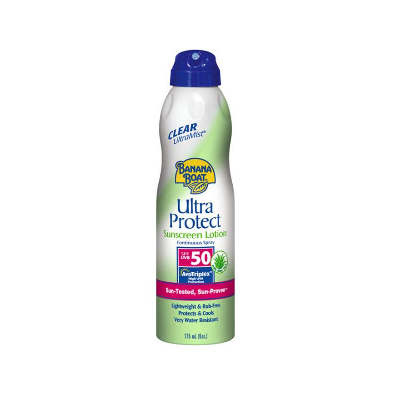 Buy Banana Boat Ultra Protect Clear Ultra Mist Spray SPF50 175ml Singapore