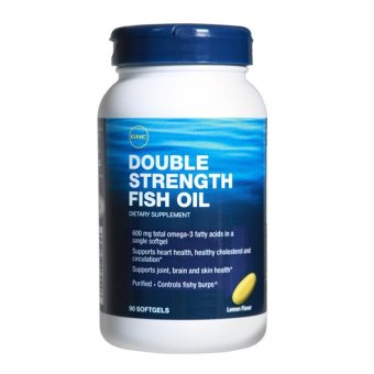 Gnc double strength fish oil 90s lazada singapore for Does fish oil lower blood pressure