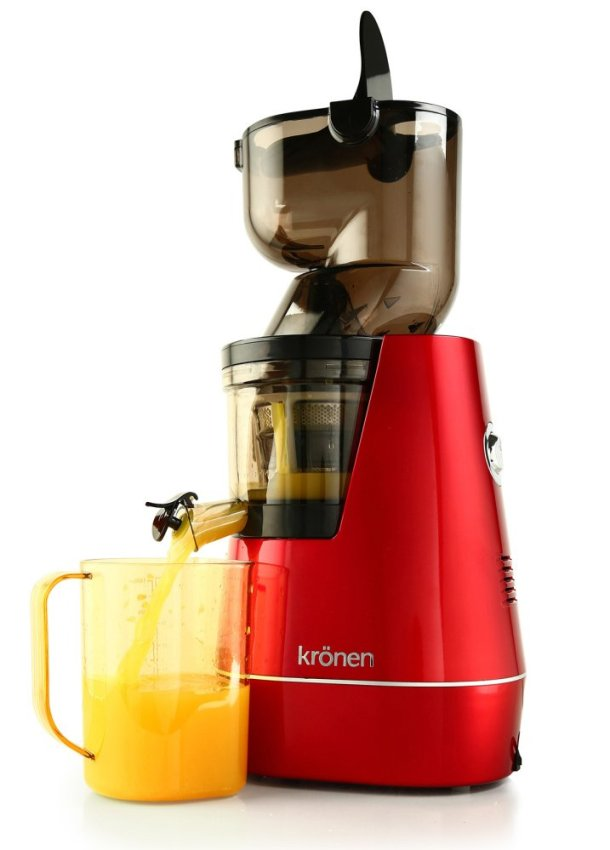 Slow Juicer Deals : KRONEN WHOLE SLOW JUICER KR-WSJ01 (RED) @$199 (UP:$699 ...