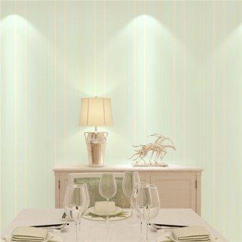 Non woven wallpaper modern minimalist 3d three dimensional for Light blue wallpaper living room