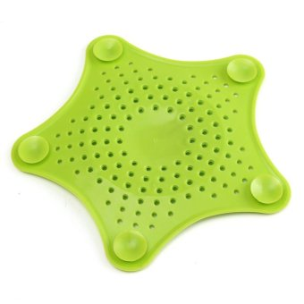 practical starfish drain hair catcher bath stopper strainer filter shower cov. Black Bedroom Furniture Sets. Home Design Ideas