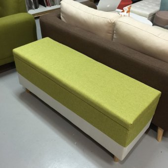 Storage ottoman type a extra large green lazada singapore for Storage ottoman singapore