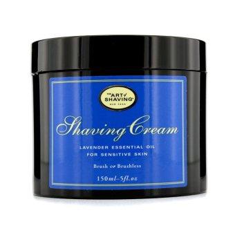 the art of shaving shaving cream lavender essential oil for sensitive skin 150g lazada. Black Bedroom Furniture Sets. Home Design Ideas