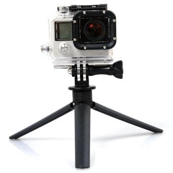 universal tripod stand holder selfie stick pole monopod for gopro hero mobile phones iphone 6. Black Bedroom Furniture Sets. Home Design Ideas