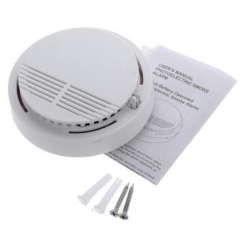 wireless cordless smoke detector home security fire alarm sensor lazada singapore. Black Bedroom Furniture Sets. Home Design Ideas