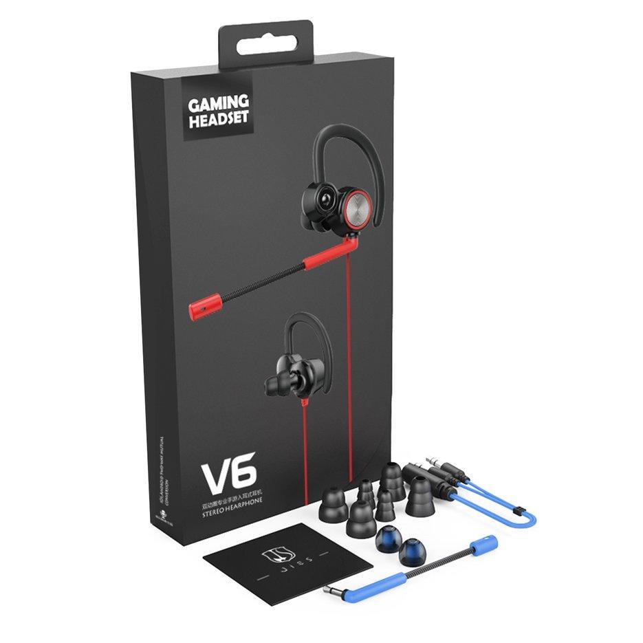 Bảng giá Nóng Người Bán V6 Tai Nghe Rung Game Headphone Có Mic Bass PC Tai Nghe Nhét Tai Phong Vũ