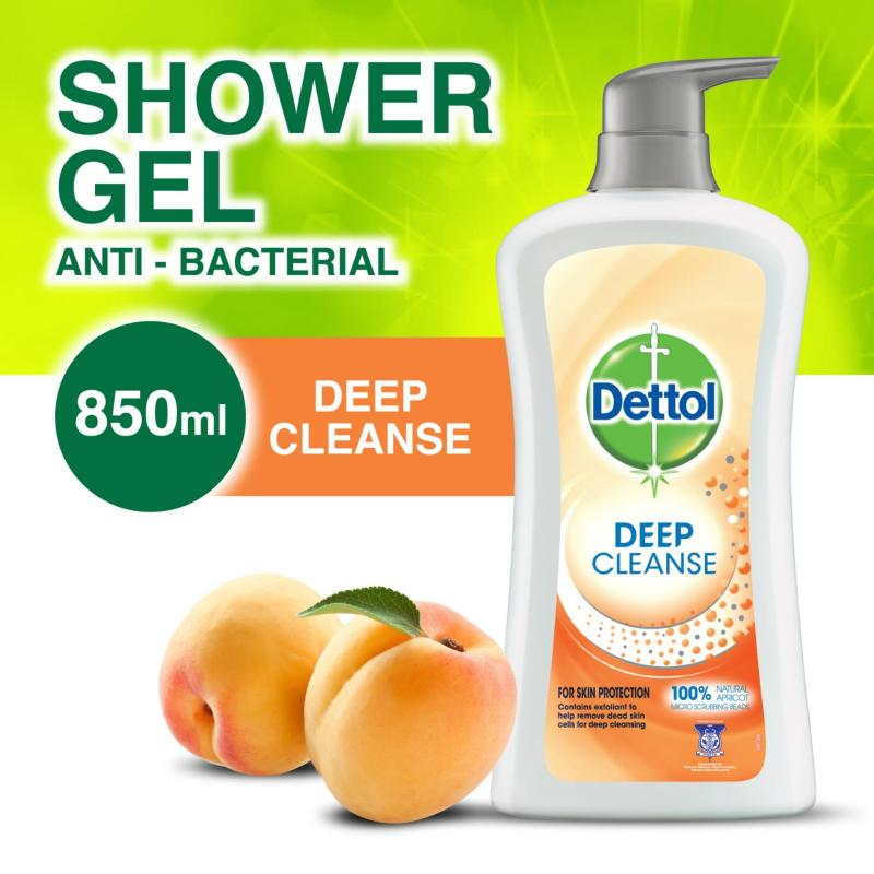 Buy Dettol Deep Cleanse Body Wash - Twin Pack 850ML x 2 Singapore