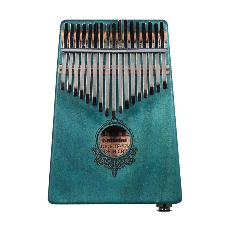Nóng Người Bán 17 Phím Kalimba Ngón Tay Cái Đàn Piano Kích Thước Bỏ Túi Ngón Tay Piano Gỗ Nhạc Cụ