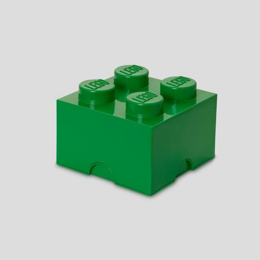 LEGO Storage Brick 4 (Green)