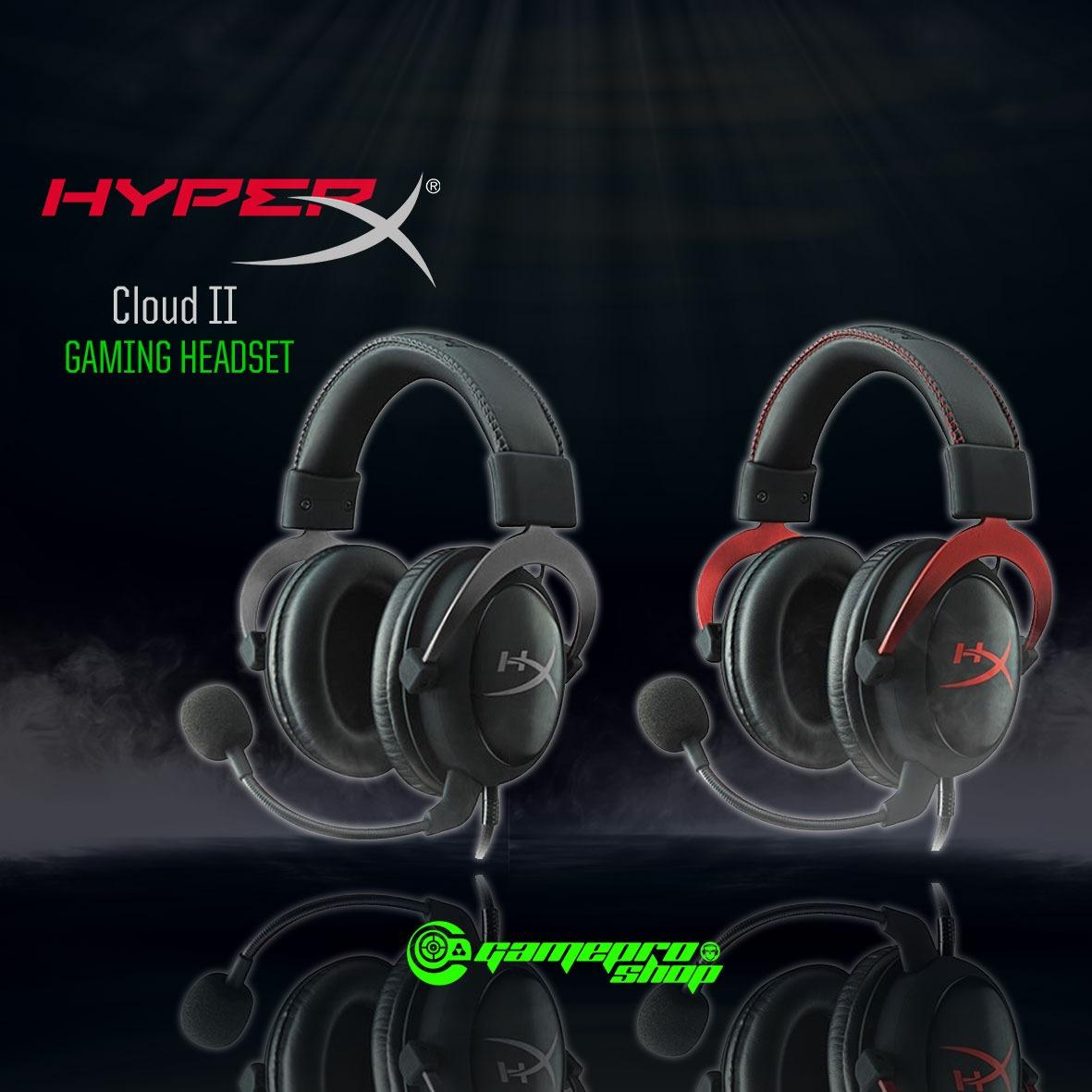 Sale Hyperx Cloud Ii Headset Black Red Gss Promo Kingston Wholesaler