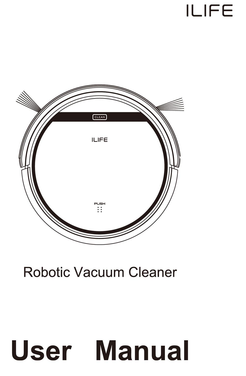 ILIFE V5 Intelligent Robotic Vacuum Cleaner Set LCD Touch Screen Self-charge Ultimate Filter Sensor Remote Control Robot Aspirador