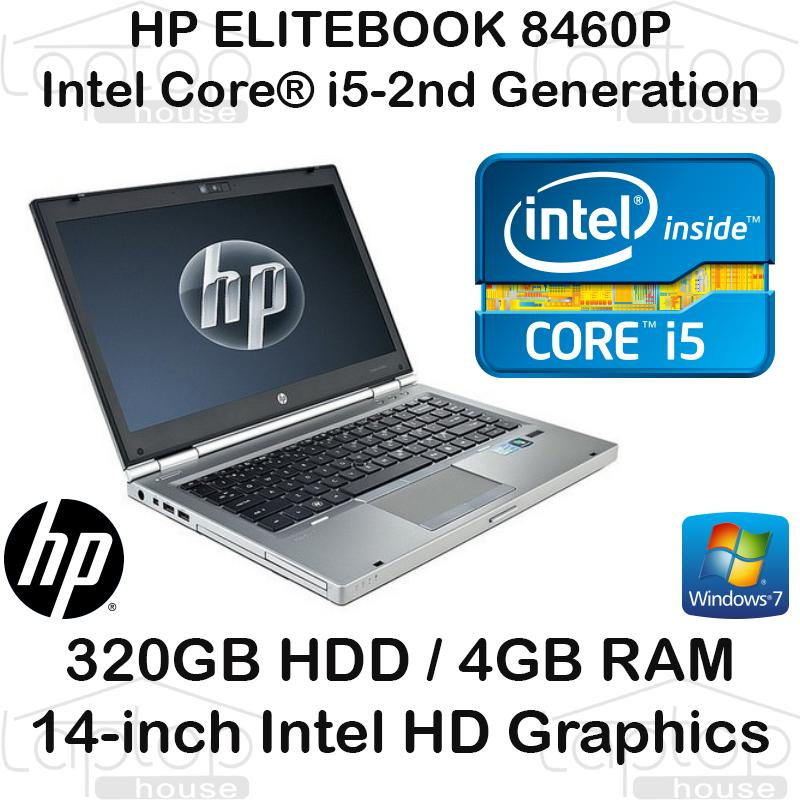 (REFURBISHED) HP Elitebook 8460 i5 2nd Gen 2410M