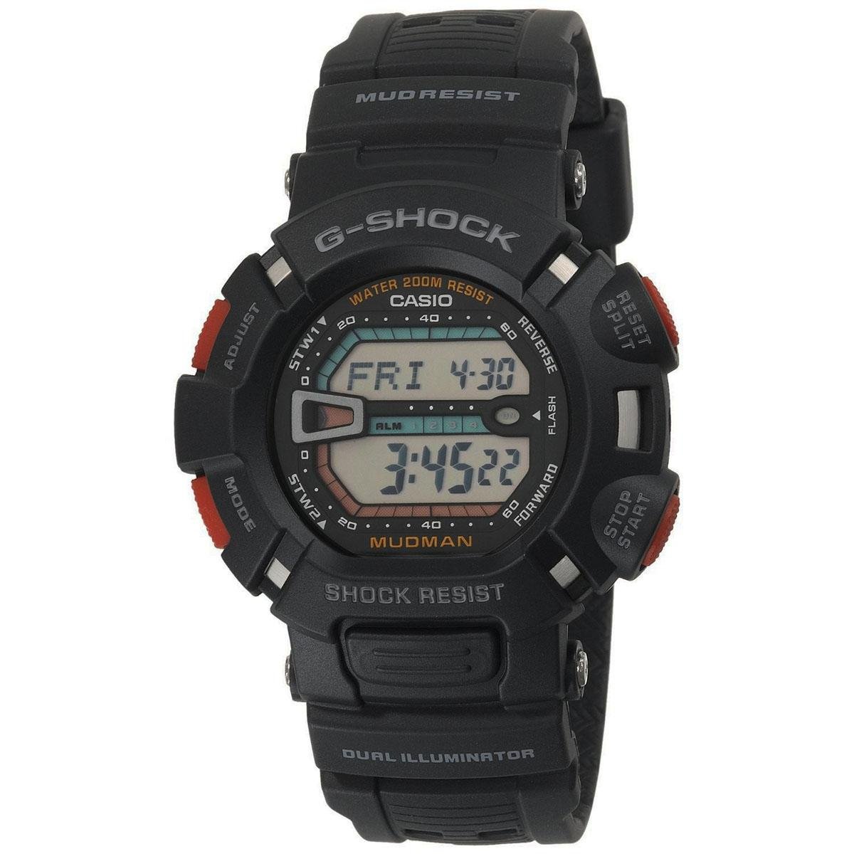 Casio Watch G Shock Professional Black Resin Case Resin Strap Mens G 9000 1V Shopping