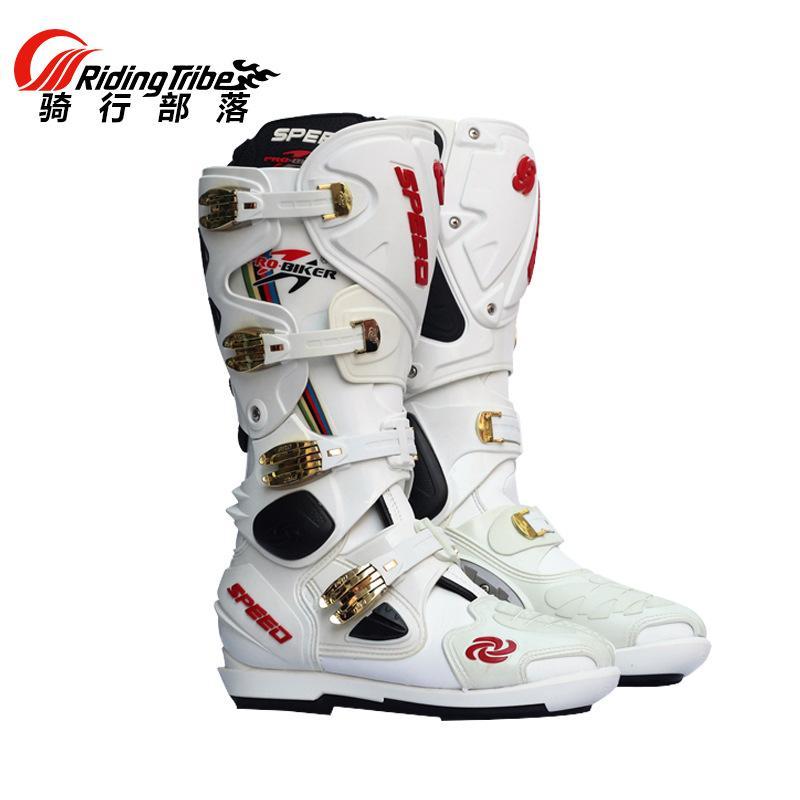 Motor Lintas Negara Sepatu Sepatu untuk Bersepeda Motor Sepatu untuk  Bersepeda Motor Sepatu Bot Motor Pria 1b4b4c0b50