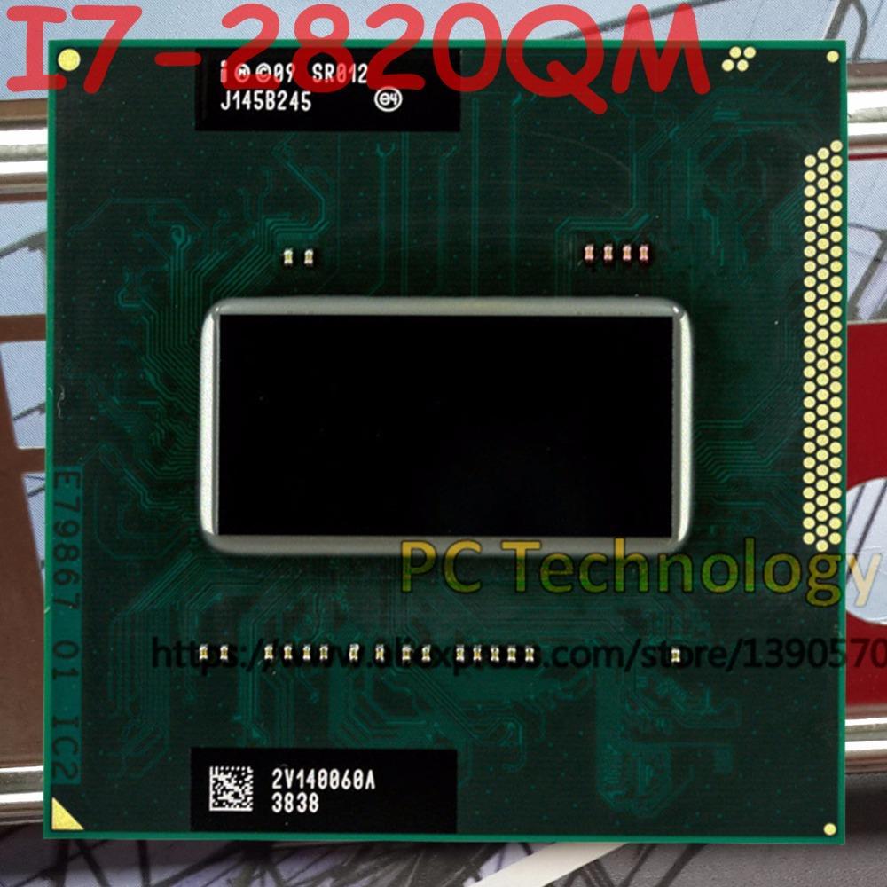 Asli Intel Core I7-2820QM SR012 CPU I7 2820QM Prosesor FCPGA988 2.3 GHz-3.4 GHz L3 = 8 M Dual core-Intl