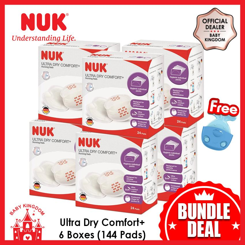 Nuk Ultra Dry Breast Pads 24 Pads X 6 Boxes On Singapore