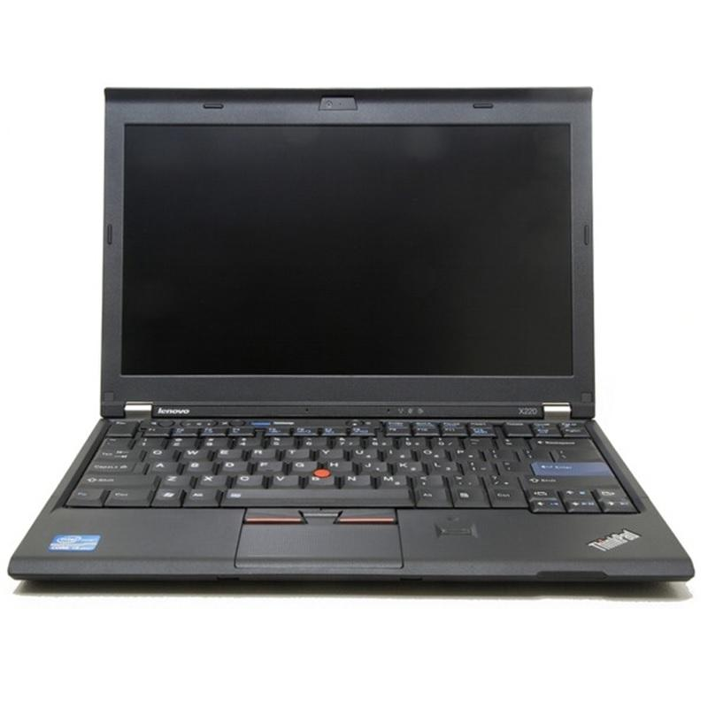 (Refurbished) Lenovo X220 12.5 (2nd Gen) Intel Core i5 2.50Ghz - 4GB - 256GB SSD - Windows 7 Pro 64 Bit