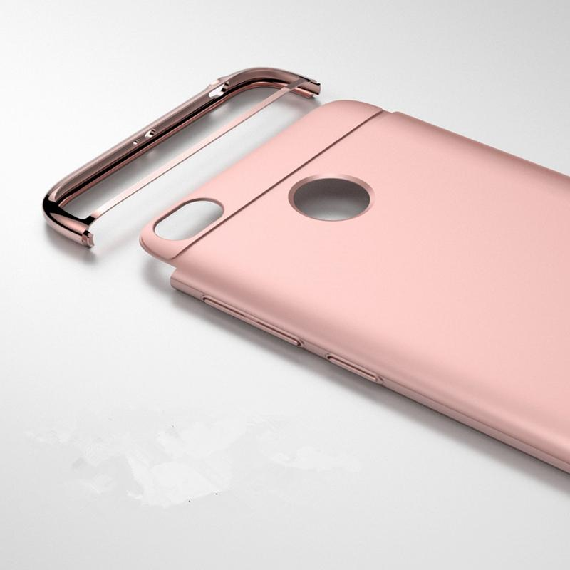 Redmi 4X Mewah Menyepuh Dgn Listrik Shockproof Kembali Casing Kover untuk Xiaomi Redmi 4X Case Keras