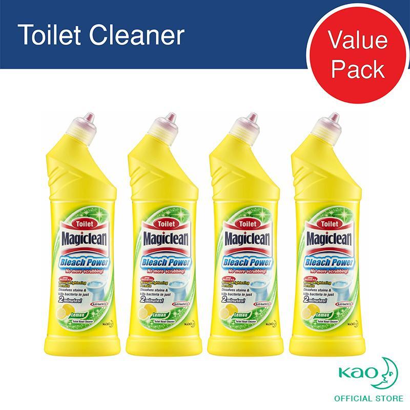 Discount Magiclean Toilet Bleach Power Lemon 500Ml Set Of 4 Magiclean On Singapore