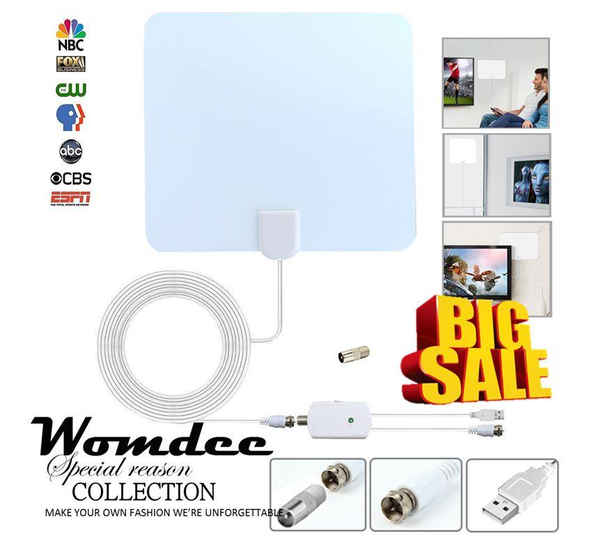 Sale Womdee A Set Of 4 Hdtv002 High Definition Digital Tv Antenna Intl Online China