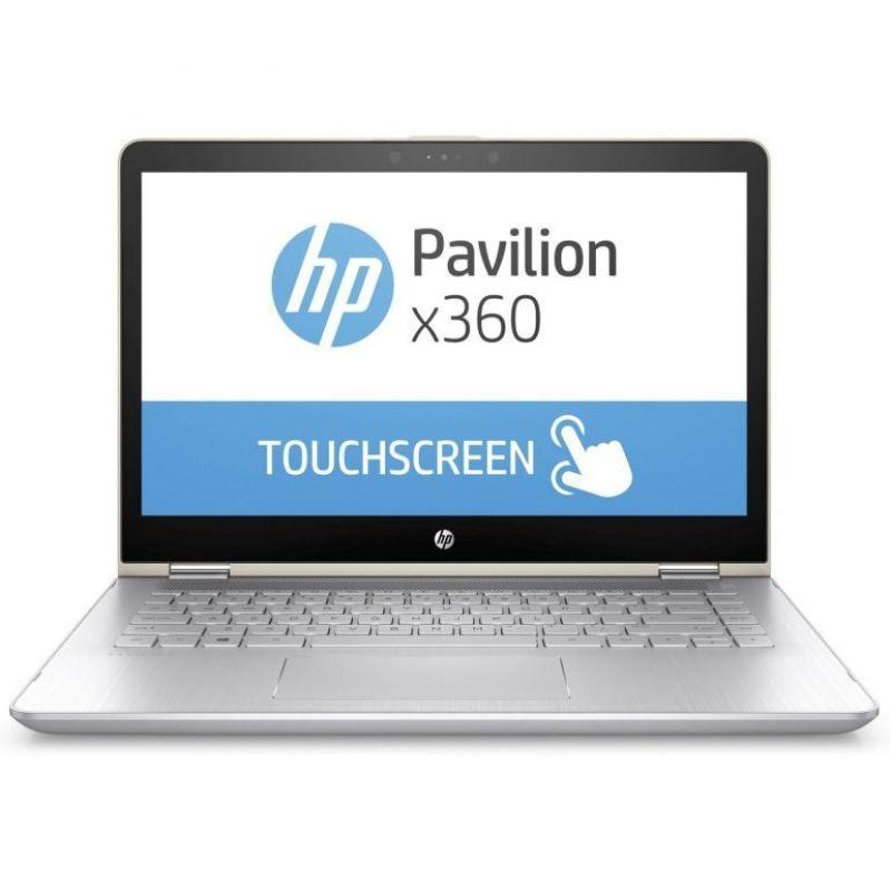 HP 14-BA110TX 2SM07PA Pavilion Notebook 14INCH FHD TOUCH (Intel i7-8550U, 8GB RAM, 512SSD GT940 W 4GB DDR3) (Gold)