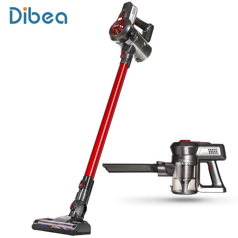 Dibea C17 Cordless 2 in 1 Lightweight Stick Handheld Vacuum Cleaner, Rechargeable Sweeper with Charging Base Singapore