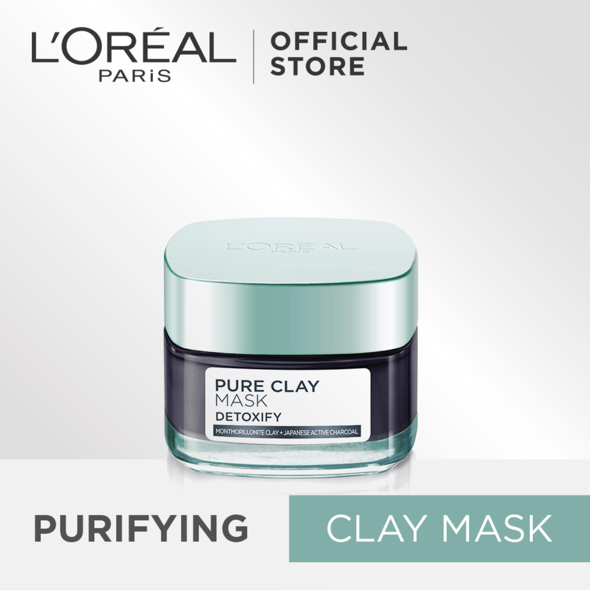 L Oreal Paris Detoxify Pure Clay Mask 50Ml Best Price