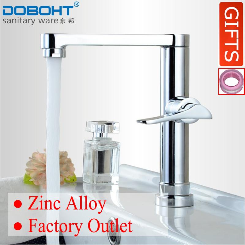 The Cheapest Doboht Zinc Alloy Bathroom Sink Basin Single Cold Tap Faucet Chrome Export Online
