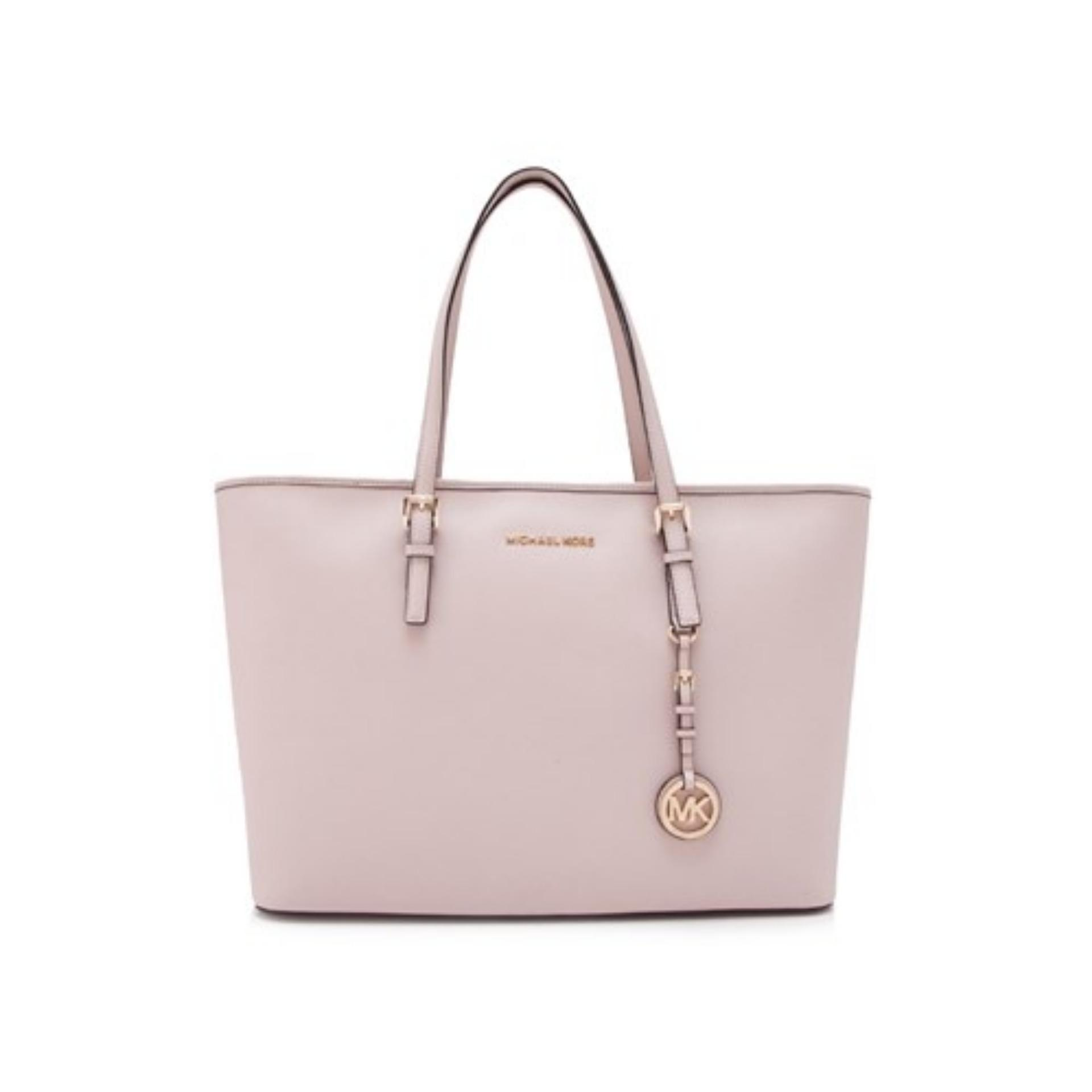 Buy Women Michael Kors Bags Totes Lazada Selma Medium Lilac Authentic Jet Set Travel Gold Tone Top Multifunctional Tote Bag Soft Pink