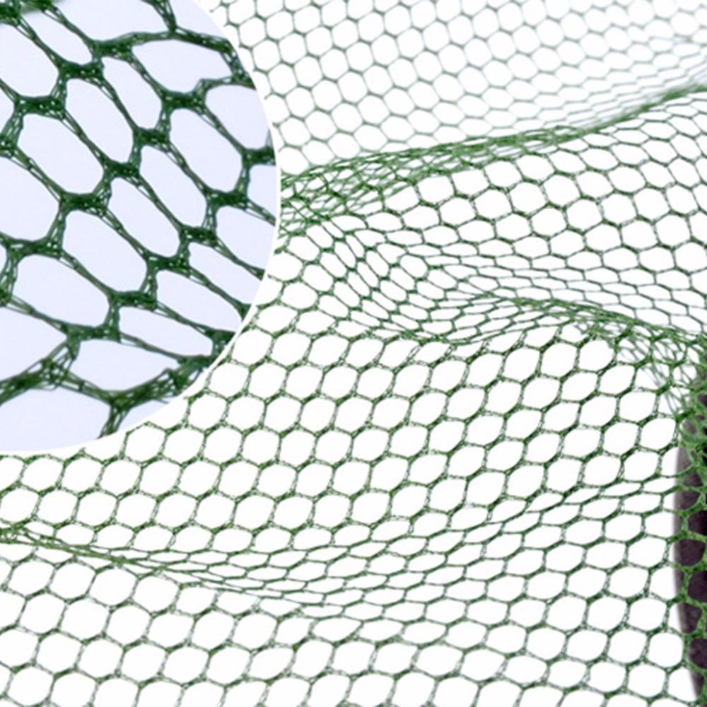 Fitur 5 Lapisan Jaring Ikan Kandang Senar Apung Keranjang Kapasitas Bom Net Pancing Tinggi Dilipat Untuk Spesifikasi Pori Bagian