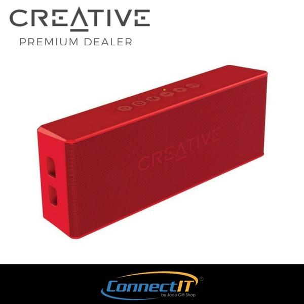Retail Price Creative Muvo 2 Portable Water Resistant Bluetooth Speaker With Built In Mp3 Player Red