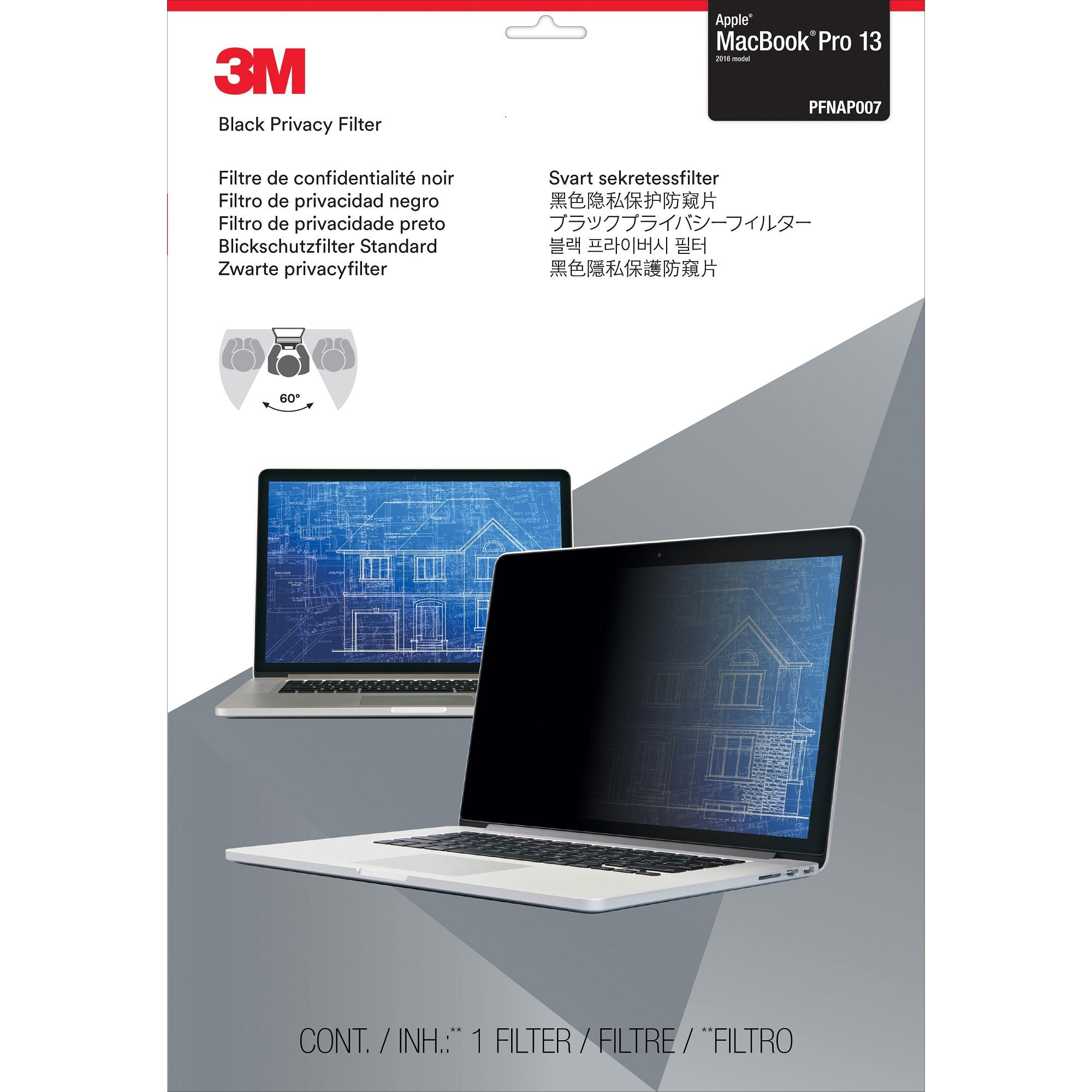3M  Privacy Filter for 13 Apple MacBook Pro (2016 model or newer)
