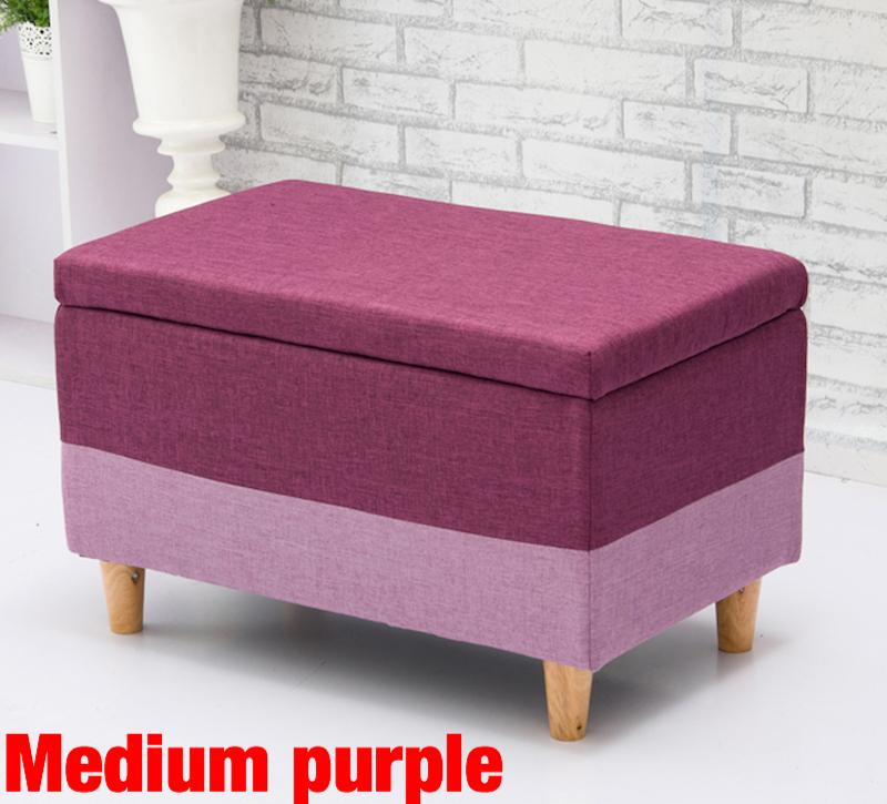 UMD Storage Box Storage Bench Storage Ottoman with Removable Full Cover Type A(Refer to pics for color & size, ignore the color family name)