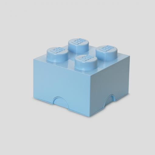LEGO Storage Brick 4 (Light Blue)